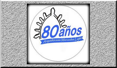 Logo 80 años rotativo