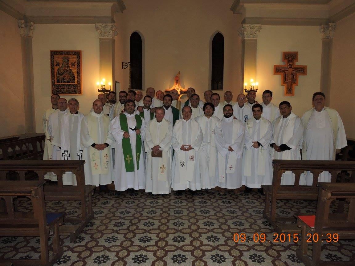 Retiro del clero en la Mariápolis