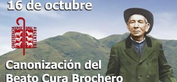 Cura Brochero canonización