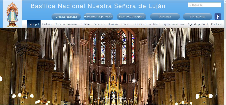 Nueva web de la Basílica