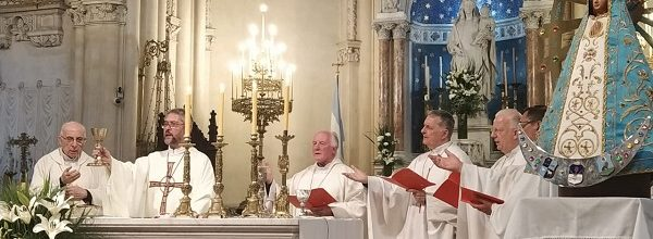 9-11-2019 – Toma de posesión e inicio de ministerio pastoral de Mons. Jorge Eduardo Scheinig como nuevo Arzobispo Metropolitano de la Arquidiócesis de Mercedes – Luján