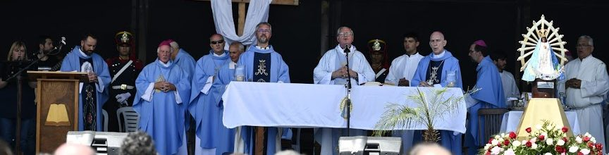 8-12-2019 – Solemnidad de la Inmaculada Concepción de la Santísima Virgen María. Misa por la Patria-           Luján