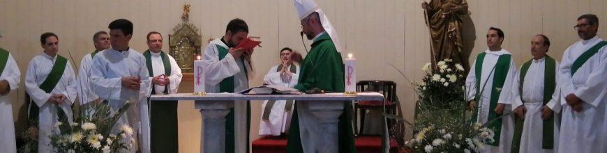 Inicio del ministerio pastoral del Pbro. Hernán López en San José de Mercedes