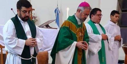 Inicio del ministerio pastoral del Pbro. Pablo Ríssola en Santo Cristo de Cortinez
