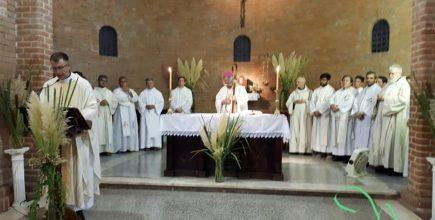 Inicio del ministerio pastoral  del Pbro. Javier Spreafichi en San Luis Gonzaga de Jaúregui