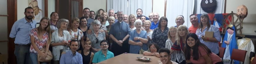 El Arzobispo acompañó la reunión de Consejo Pastoral de la Parroquia San Ignacio de Loyola de Junín