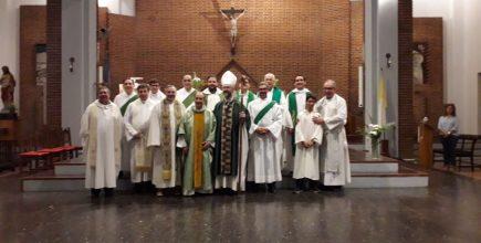 Inicio del ministerio pastoral del Pbro. Norberto Chirigliano en San Andrés de Giles