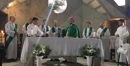 Inicio del ministerio pastoral del Pbro. Marcelo Monteagudo en San José de Luján