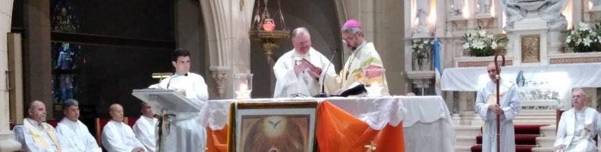 Inicio del ministerio pastoral del nuevo párroco de San Patricio de Mercedes