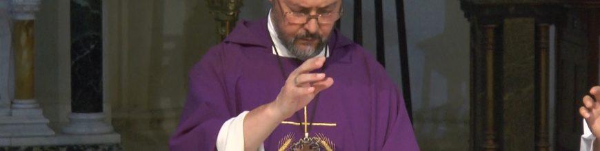 Homilía del Arzobispo en el 1º Domingo de Cuaresma en la Catedral  de Mercedes