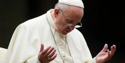 Padre Nuestro junto al Papa Francisco