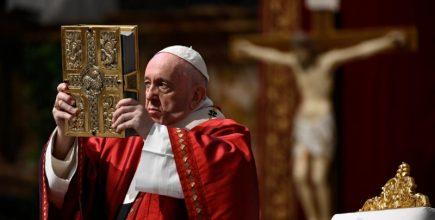 Homilía del Papa Francisco en la Solemnidad de Pentecostés