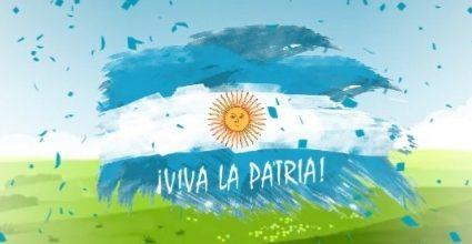¡Al gran pueblo argentino, salud!