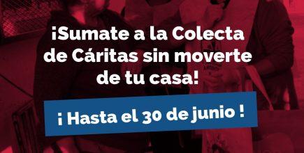 """Colecta Anual de Cáritas: «Tu generosidad aumenta la esperanza"""" se extiende hasta el 30 de Junio"""