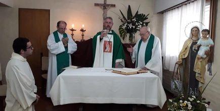 Misa de clausura de las fiestas patronales a la Virgen del Carmen en Lobos