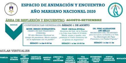 Espacio de Animación y Encuentro virtual. Año Mariano Nacional