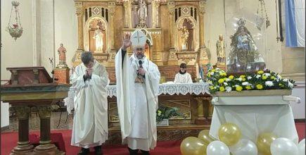 «Donde está María, hay esperanza». Fiesta patronal Carmen de Areco