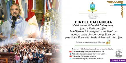 Celebramos el Día del Catequista junto a María de Luján