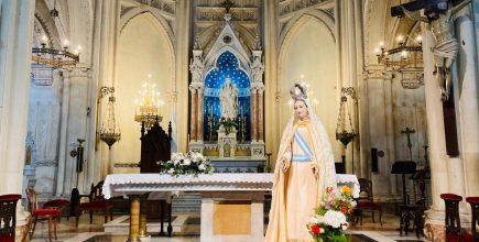 Programa de la novena a Nuestra Señora de las Mercedes.