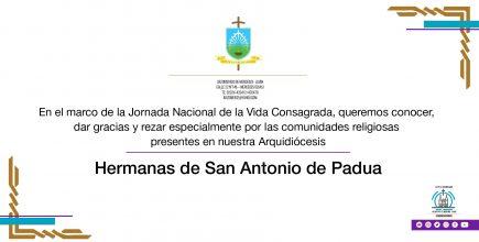 Celebramos la Vida Consagrada. Hermanas de San Antonio de Padua