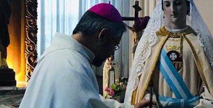 El Arzobispo presidió la Eucaristía en el Hospital «Blas Dubarry»en el marco de la novena a Nuestra Señora de las Mercedes