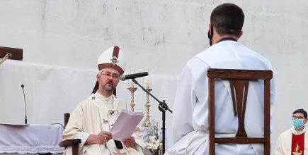Homilía de nuestro padre obispo +Jorge Eduardo en la ordenación presbiteral de Sebastián Ríos