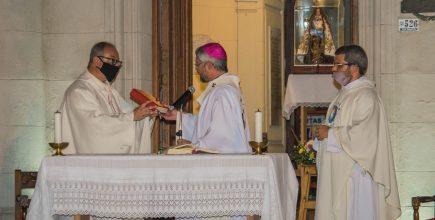Inicio del ministerio pastoral del Pbro. Daniel Blanchoud como nuevo párroco de Ntra. Señora del Carmen, Carmen de Areco.
