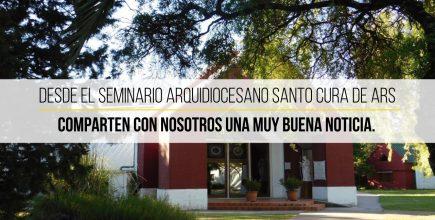 Seminario Santo Cura de Ars. Nuevo Proyecto. «Deseamos que nuestro Seminario sea un espacio donde muchos de ustedes puedan formarse»