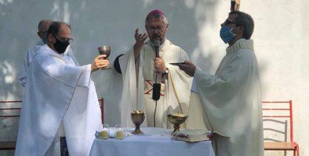 Inicio del ministerio pastoral de los Pbros. Claudio Mosca y Ricardo Rodriguez como Párrocos Solidarios de Sagrada Familia de Luján.