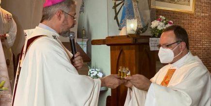 Inicio del ministerio pastoral del Pbro. Darío Kling como nuevo párroco de San Isidro Labrador de Chacabuco