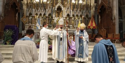 Inicio del ministerio pastoral del Pbro. Lucas García como nuevo Rector del Santuario Basílica de Nuestra Señora de Luján