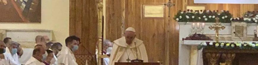 Homilía del Papa Francisco en la Catedral Caldea de San José de Bagdad