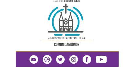 Comunicación sobre nueva página oficial de Facebook: Arzobispado Mercedes – Luján