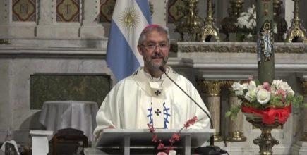 Fiesta de la Divina Misericordia. El Arzobispo presidió la Eucaristía en la Basílica de Luján