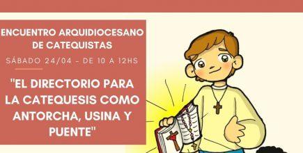 Encuentro Arquidiocesano de Catequistas 2021