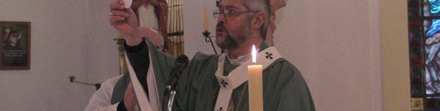 Misa por los enfermos y fallecidos de covid en Moquehuá