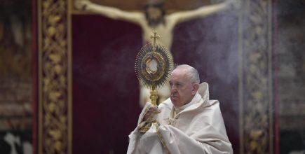 Homilía del Papa Francisco en la Solemnidad de Corpus Christi