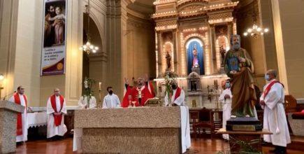 El Arzobispo presidió la Eucaristía en la Solemnidad de los Santos Pedro y Pablo en la ciudad de Chivilcoy