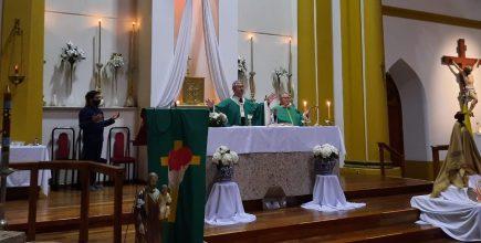 Misa por los enfermos y fallecidos de Covid y sus familias en Suipacha.