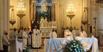 El Arzobispo presidió el Te Deum el 9 de Julio en la Catedral de Mercedes, con ocasión del Día de la Independencia.