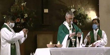 Misa por los enfermos y fallecidos de Covid y sus familias en San Cipriano de Gral. Las Heras