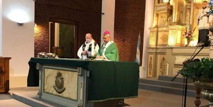 Misa por los enfermos y fallecidos de Covid y sus familias en San Luis Gonzaga de Mercedes