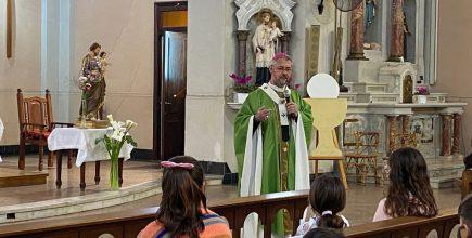 El Padre Obispo presidió la Eucaristía en Alberti por los enfermos y fallecidos de covid