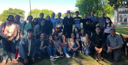 El Padre Obispo Jorge Eduardo al encuentro de los jóvenes de Chivilcoy